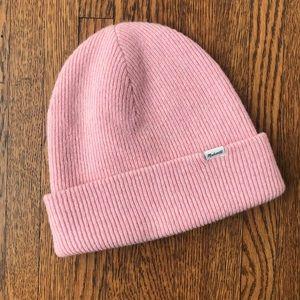 Madewell Merino Wool Wide Cuff Ribbed Knit Beanie